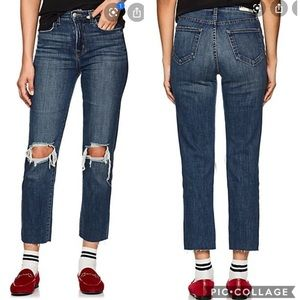 NWOT L'AGENCE Audrina High Rise Straight Jeans